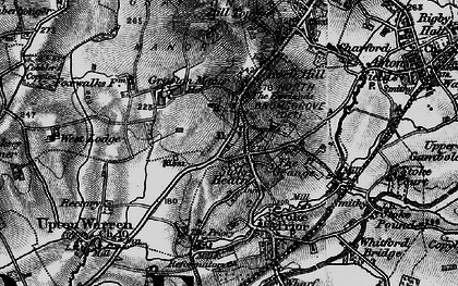 Old map of Avoncroft Mus in 1898