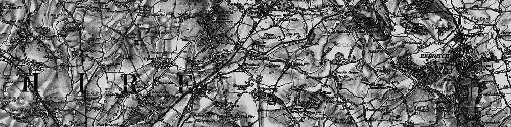 Old map of Whitford Bridge in 1898