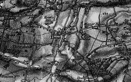 Old map of Stoke St Michael in 1898