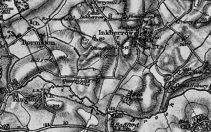 Old map of Stonepits in 1898