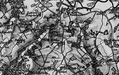 Old map of Wood Sutton in 1899