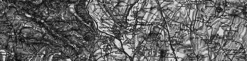 Old map of Stourport-on-Severn in 1898