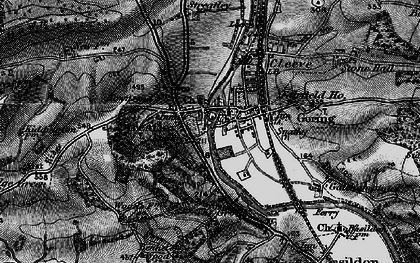 Old map of Streatley in 1895