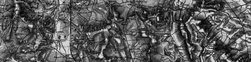 Old map of Streatley in 1896