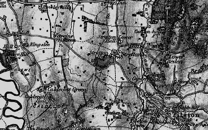 Old map of Wetreins, The in 1897