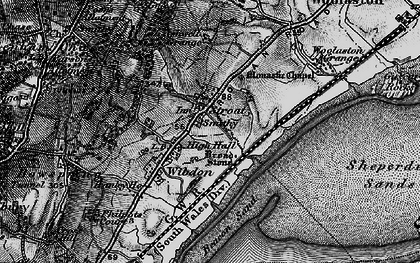 Old map of Ashwell Grange in 1897