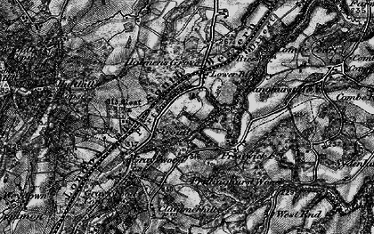 Old map of Stroud in 1896