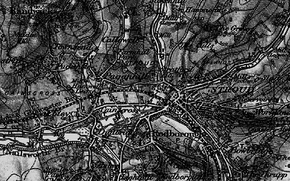 Old map of Stroud in 1897