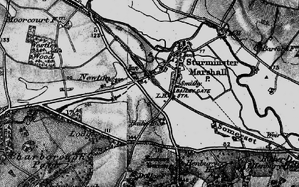 Old map of Bailie Ho in 1895