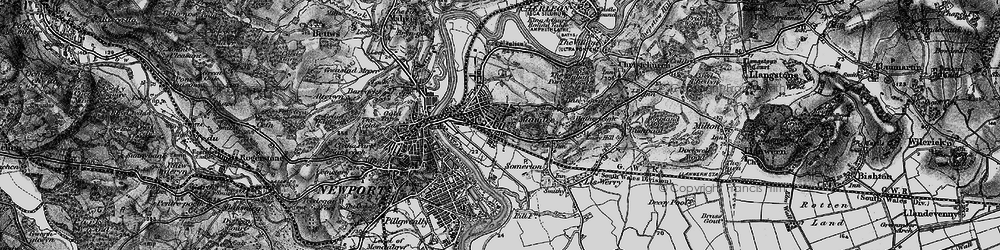 Old map of Summerhill in 1897