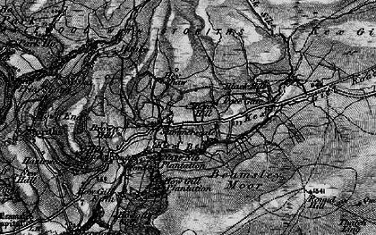 Old map of Whinhaugh in 1898