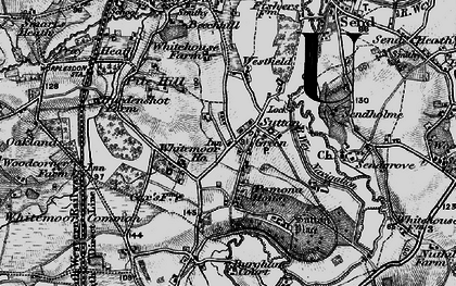 Old map of Sutton Green in 1896