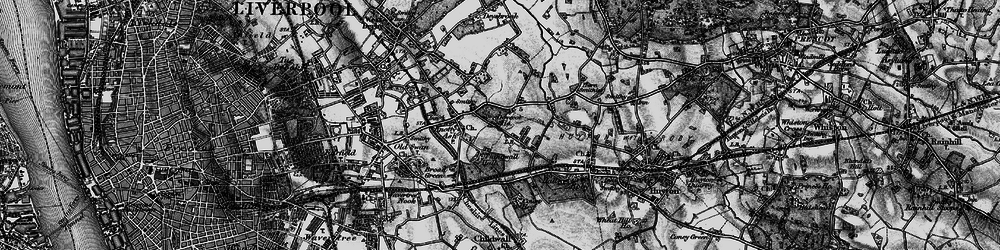 Old map of Swanside in 1896
