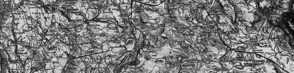 Old map of Winterley Cobba in 1898