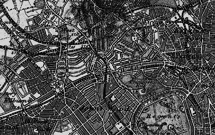 Old map of Swiss Cottage in 1896
