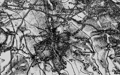 Old map of Wing Ho in 1897