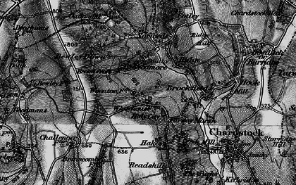 Old map of Whitehouse in 1898