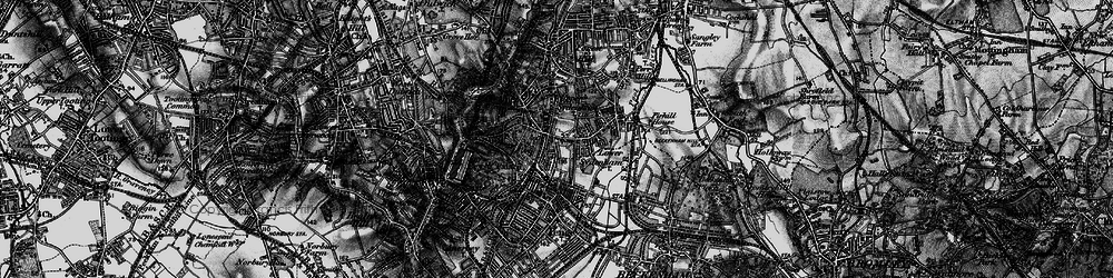 Old map of Sydenham in 1895
