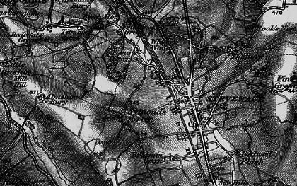 Old map of Symonds Green in 1896