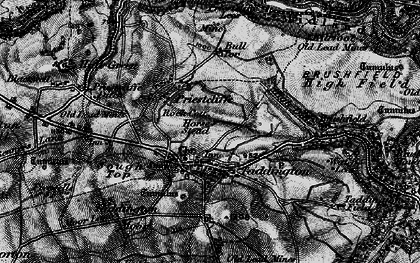 Old map of Taddington in 1896