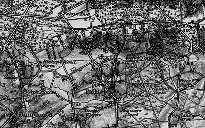 Old map of Tadley in 1895