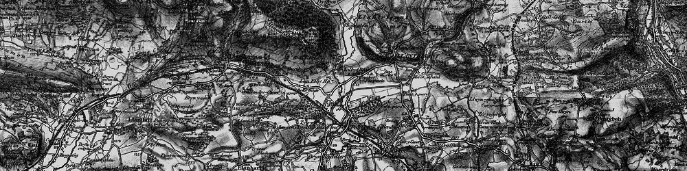 Old map of Talbot Green in 1897