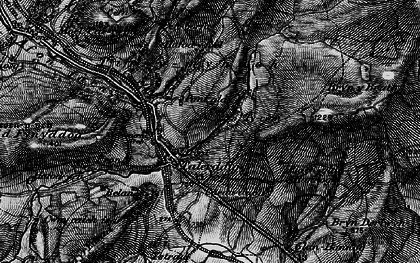Old map of Afon Tyn-y-rhos in 1899