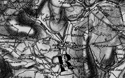Old map of Whilgarn in 1898