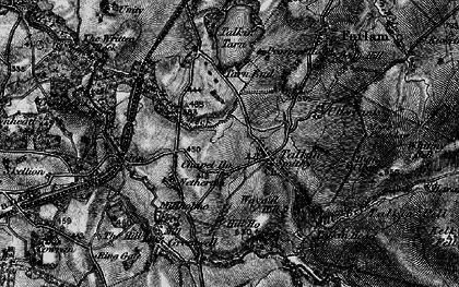 Old map of Talkin in 1897