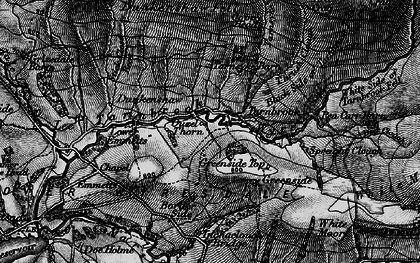 Old map of White Moor in 1898