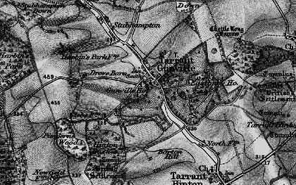 Old map of White Kennels in 1895