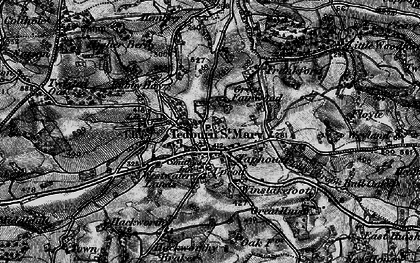 Old map of Winslakefoot in 1898