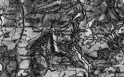 Old map of Tidbatch in 1898