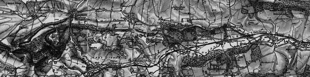Old map of Wick Ball Camp in 1895