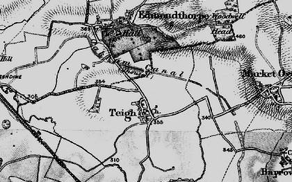 Old map of Woodwell Head in 1899
