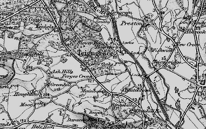 Old map of Leygreen in 1898