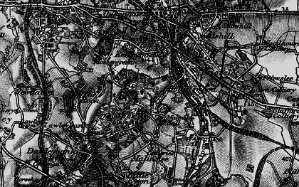 Old map of Telford in 1897
