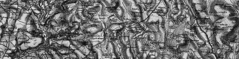 Old map of Tiptreehall in 1895