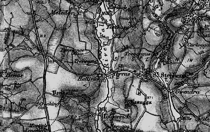Old map of Terras in 1895