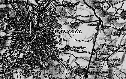 Old map of Wren's Nest in 1899