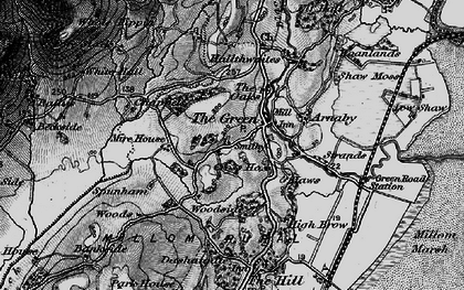 Old map of The Green in 1897