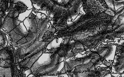Old map of The Node in 1896