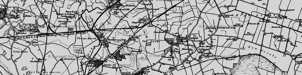 Old map of Ling Ho in 1895