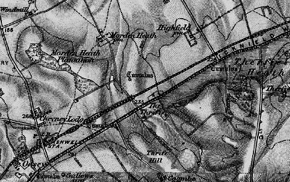 Old map of The Thrift in 1896