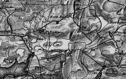 Old map of Whiteside in 1897