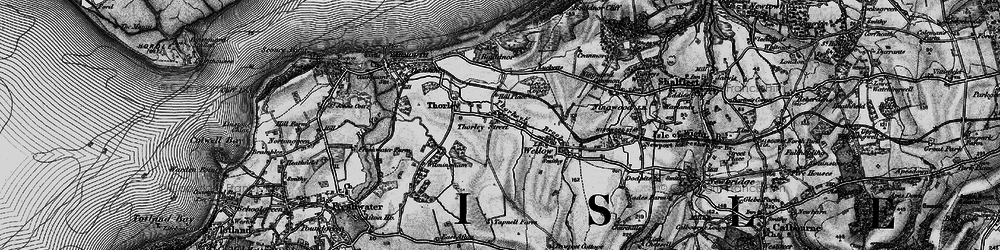 Old map of Wilmingham in 1895