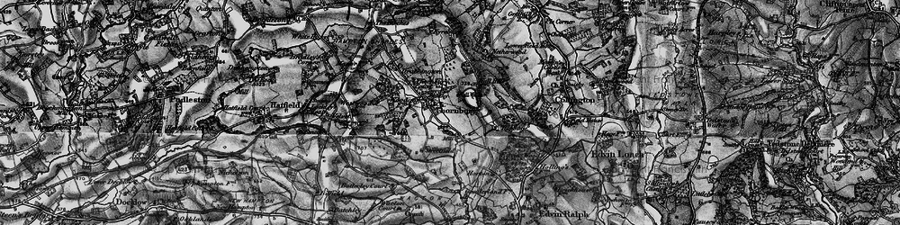 Old map of Yeld Ho in 1899