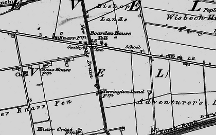 Old map of Adventurers' Land in 1898