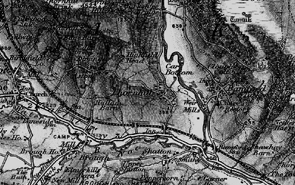 Old map of Yorkshire Br in 1896