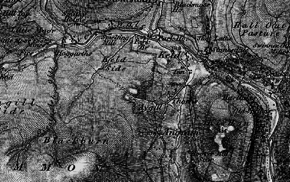 Old map of Ashgill Side in 1897